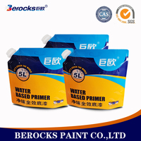 eco-friendly waterproof interior wall paint for humid room/toilet/ kitchen