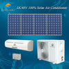 Off grid DC48V wall split Africa home 12000BTU 18000BTU air conditioner with small solar panels