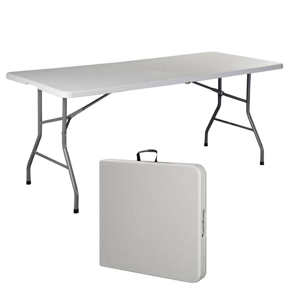 Wholesale popular HDPE plastic folding <strong>table</strong>