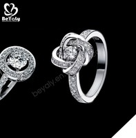 Customized design wedding silver hot-selling 18k gold jewellery