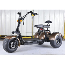 Best price scooter three wheel bicycle with 2 seat hot selling 3 wheel electric scooter