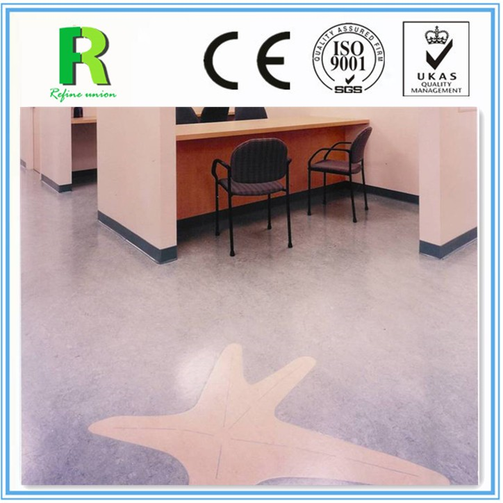 100% PVC Virgin Material Homogeneous Kindergarten Vinyl Pvc Roll Flooring