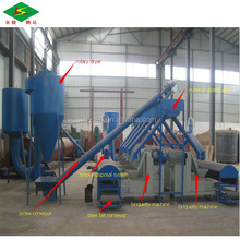 Fair price Sawdust Briquette Charcoal Making Machine From Gongyi