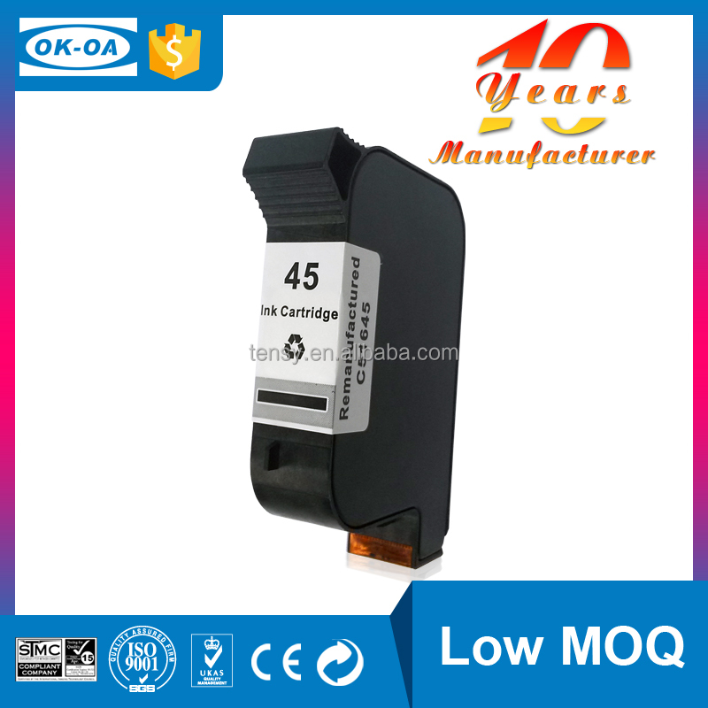 high margin products printing ink and cartridge for HP 45 51645a