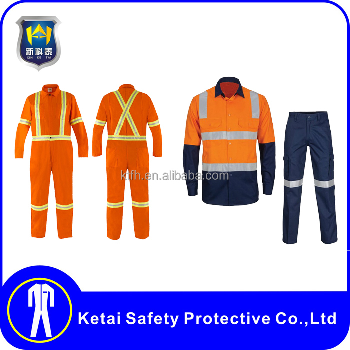 2016 Wholesale safety strong fabric construction work uniform suits