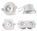Norge design gyro led downlight ip44 no need downlight box