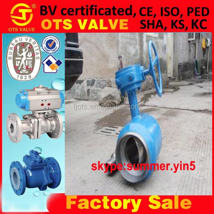 full socket/butt welded/flange connection ball valve JIS10K