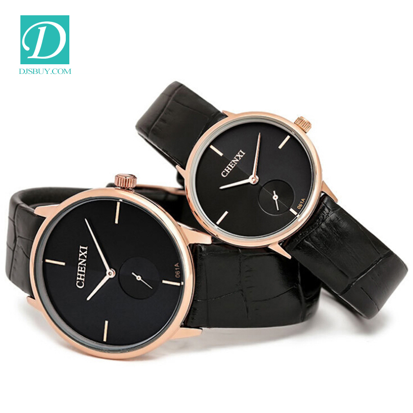 New fashion ladies leather watch quartz women watches