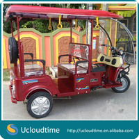 Cheaper 48V 1000W bajaj three wheeler auto electric rickshaw price in india for sale
