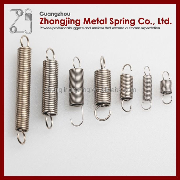 Extension/ Zinc Plated Coil Tension Spring For Exercise Equipments Machine