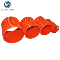 Large diameter corrugated communication cable protection brand names pvc pipe fitting