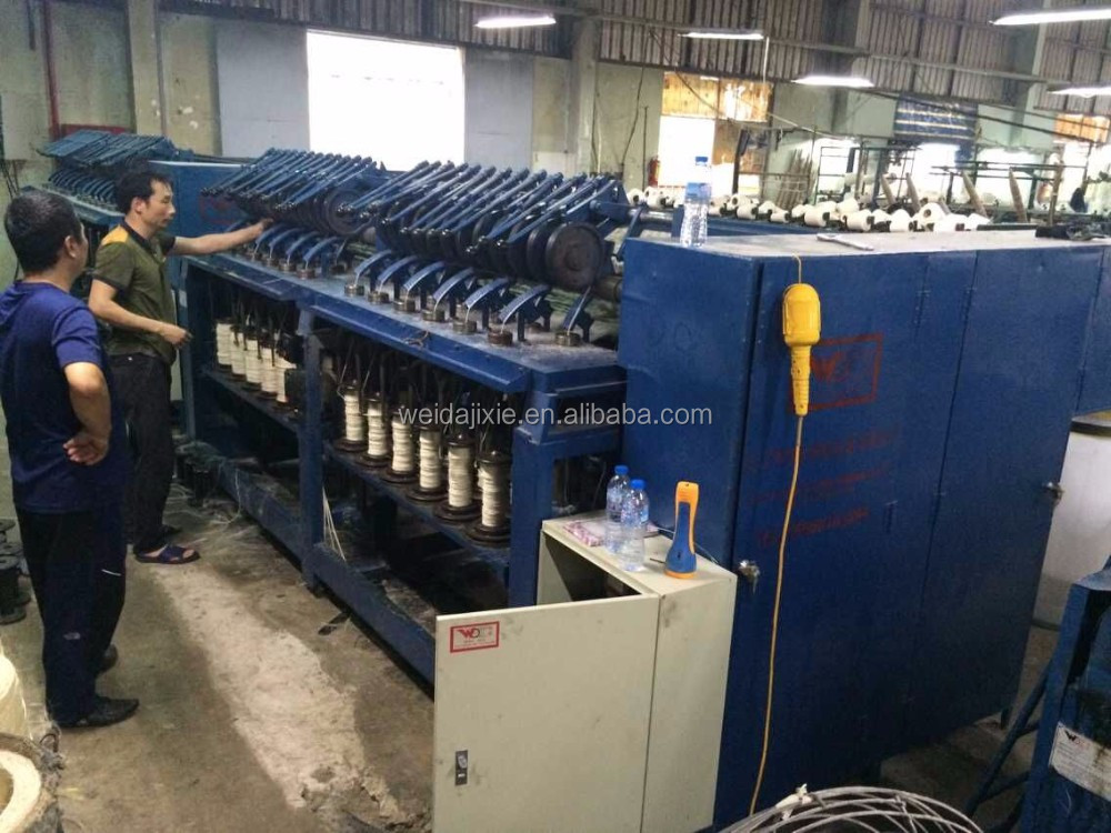 24 Spindle sisal yarn textile machinery spinning machine
