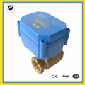 "Brass 1/2'' 3/4"" 1"" CWX-15 Timer control electric valve motorized ball valve for DC9/24V AC220V automatic control system"