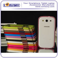 Ultra-thin Protective Aluminum Metal Frame Bumper Case for samsung galaxy s3 i9300 Paypal Acceptable