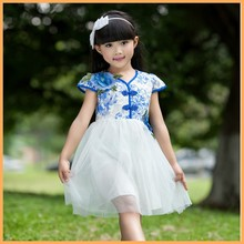 Wholesale alibaba flower girl dress patterns , baby girl frock fancy smoking dress for kids