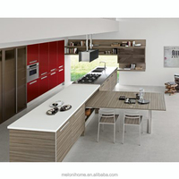 Fascinating Kitchen Pull out Table Home Design,Custom made Extending Multifunction Table