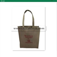 wenzhou customized color jute tote shopping bags