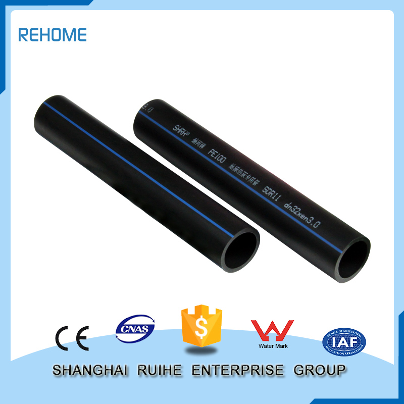 Plastic Big size hdpe pipe prices standard length