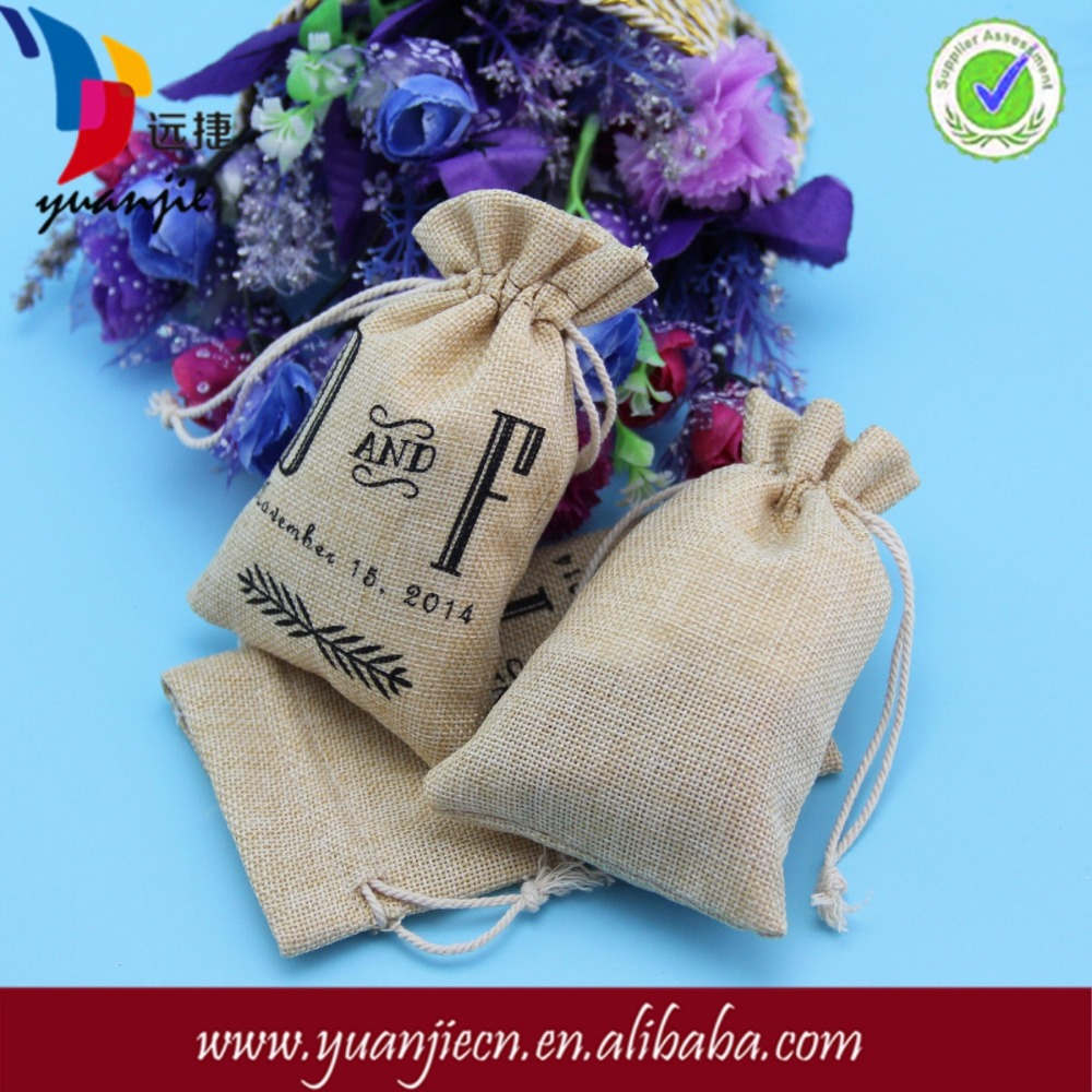 Alibaba china best selling classy wine jute bag