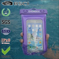waterproof bag/mobile phone bag waterproof case/waterproof pvc mobile phone case