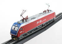 1:87 Scale Ho Gauge China Railway High-speed Electric Locomotive HXD1D number 1898 train model
