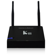 Acemax KIII Android TV Box 2G/16G Amlogic S905 KODI XBMC Quad-Core Android 5.1 UHD 4K 3D 2.4/5G Dual WiFi DLNA Airplay Miracast