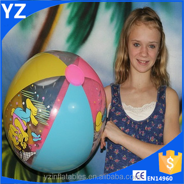 Animal Print colours Big Inflatable Plastic Beach Ball