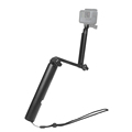 New 3-way Grip Monopod Tripod Waterproof Selfie Stick for Gopros 6 5