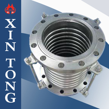 The flange of stainless steel metal bellows pipe expansion joint/compensator