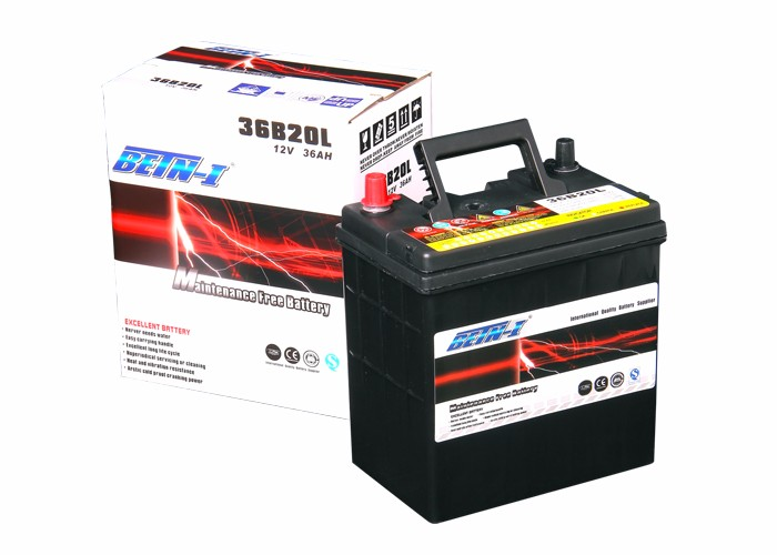 Manufacturer MF36B20L BETN-I MF Type 12v car battery specifications