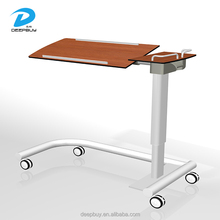 Height Adjustable Movable Hospital Bed Dinning Table