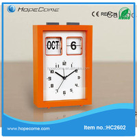 (HC2602) promotional cheap metal desk calendar