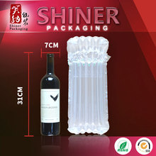 High Quality Wine Bottle Plastic Bag Waterproof Anti-pressure Air Column Bags for Packing