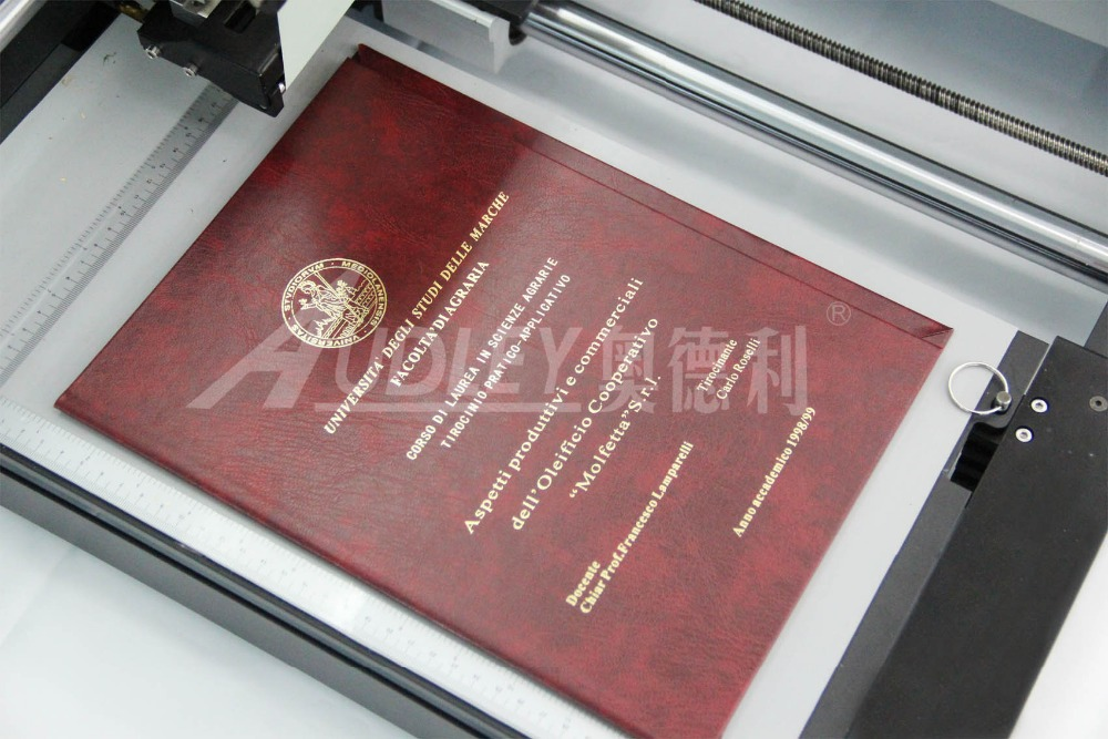 Foil Stamping Book Cover Diy : Audley adl c automatic digital hot foil stamping