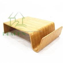 Modern Living room bent shape plywood Scando coffee Table