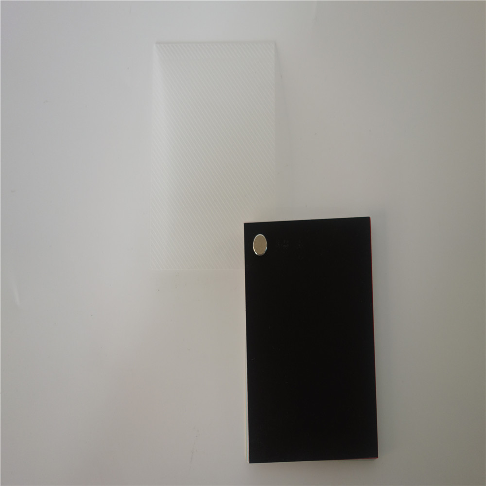 polypropylene transparent business card sheets