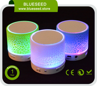 Mini Portable Bluetooth Speaker MP3 Music Player LED Light Sound Box For iPhone Samsung HUAWEI Xiaomi