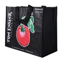 pp woven bag shopping bag gravure 4 color offset prinitng lamination bag