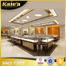 High end wooden store furnitures for gold,jewelry display counter