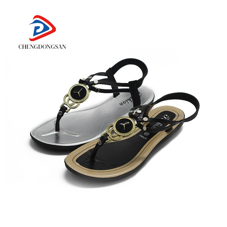 Low price thailand wholesale shoes slide custom logo reef sandals