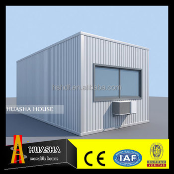 Beautiful small steel frame container movable tiny house