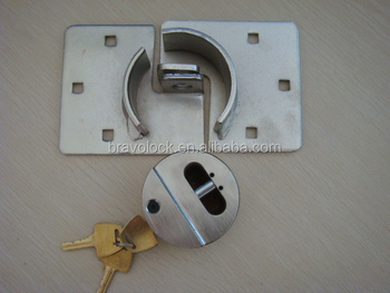 High Quality Hockey Puck Lock, Hidden Shackle Pad lock