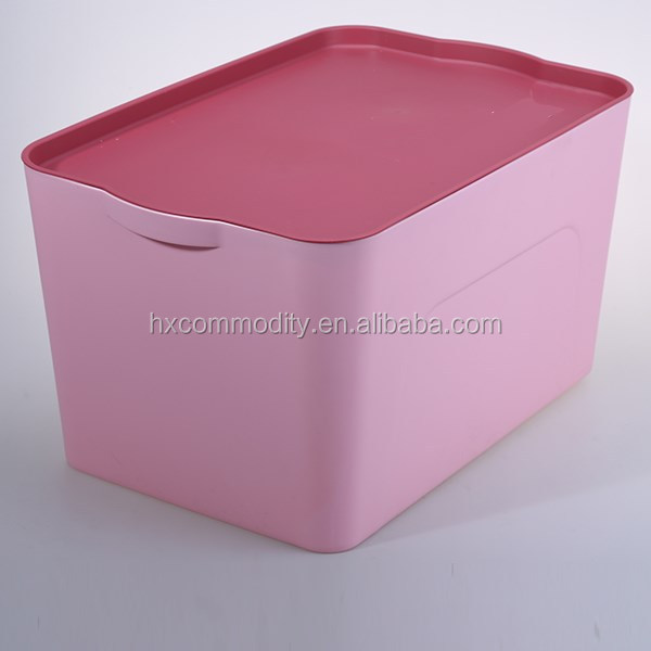 Christmas square plastic storage container box