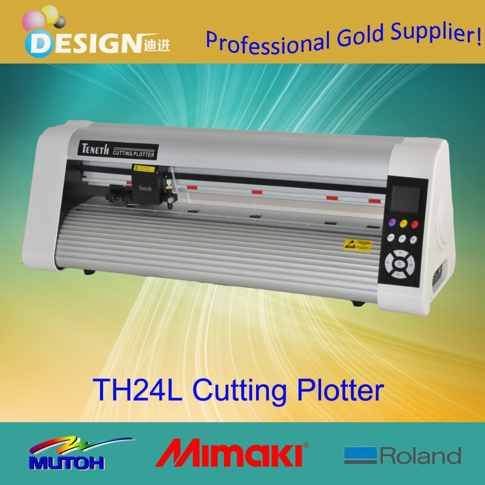 Cheap price TH24L cutting stickers vinyls copam roland plotter