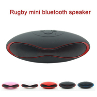 Mini-X6 Rugby Mini Bluetooth Speaker with TF card slot and U Disk function