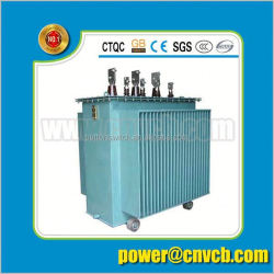 power supply three phase 22KVa 22kv toroidal core copper wire for winding Oil type Transformer distribution transformer