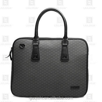 "High quality lawyer briefcase for 15.6"" laptop executive man handbag"