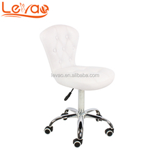 Levao Hight quality hair master stool portable manicure pedicure chair nail technician chair