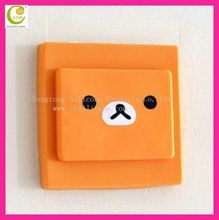 Against electric shock customed silicone switch safety cover