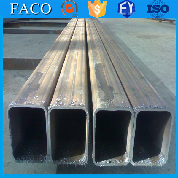 Tianjin square rectangular pipe ! square steel welded tubes rubber lined carbon steel pipe price